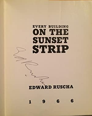 Every Building on the Sunset Strip (Signed): Ruscha, Ed (Edward)
