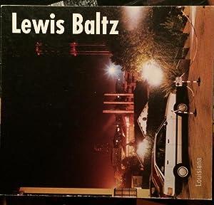 Lewis Baltz (Louisiana Særkatalog 5): Lewis, Baltz