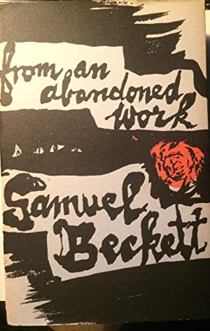 From an Abandoned Work.: BECKETT, Samuel.