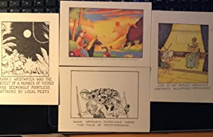 Glen Baxter: Bax of Boxters: Postcards: Glen Baxter