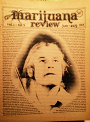 The Marijuana Review, Vol. ! #3. June-August 1969: Aldrich, Michael and Ed Sanders (eds.)