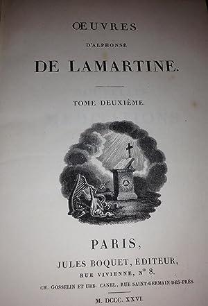 Oeuvres de Alphonse de Lamartine: Alphonse de Lamartine