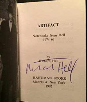 Artifact! Notebooks from Hell 1974-1980: Notebooks from Hell, 1974-80 (SIGNED): Hell, Richard