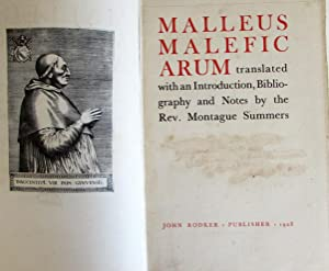 Malleus Maleficarum, Translated with an Introduction, Bibliography: Summers, Augustus Montague
