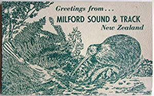Greetings from Milford Sound & Track New: Seaward, N S