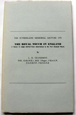 The Royal Touch in England : A: Gluckman, L K