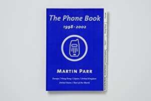 The Phone Book: 1998-2002. Blue Cover. (rare signed copy)