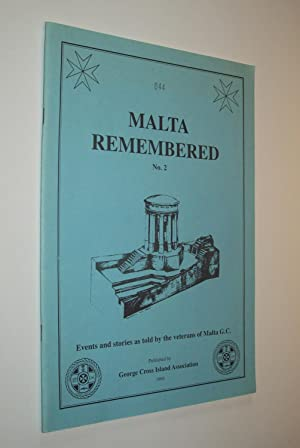 Malta Remembered No 2: Events and stories: Reg Bleasdale, K