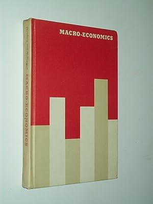 Macro-Economics: The Measurement, Analysis, and Control of: Thomas F Dernburg