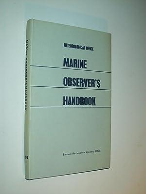 The Marine Observer's Handbook: 10th Edition (Meteorological