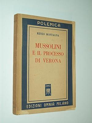 Mussolini e il Processo di Verona: Gen. Renzo Montagna