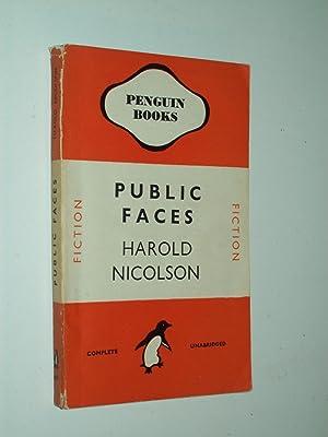 Public Faces [Penguin 489]: Harold Nicolson