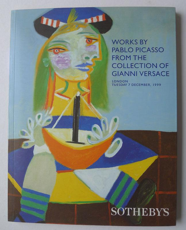works by pablo picasso from the collection of gianni versace december 7 1999