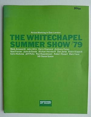 The Whitechapel Summer Show '79. Artists Working: WHITECHAPEL ART GALLERY.
