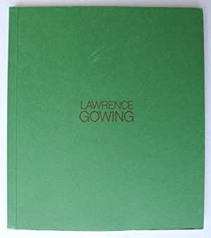 Lawrence Gowing. Serpentine Gallery, London, 26 March-24: GOWING, LAWRENCE.