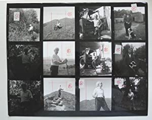 A contact sheet of photographs taken by: NOLAN, SIDNEY.