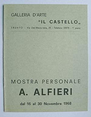 """Mostra Personale A.Alfieri. Galleria d'Arte """"Il Castello"""", Trento dal 16 al 30 Novembre..."""
