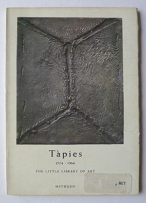 Tàpies 1954-1964. The Little Library of Art.: CIRICI, ALEXANDRE.