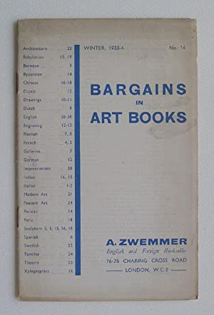 Bargains in Art Books. Winter, 1933-4, No.14.