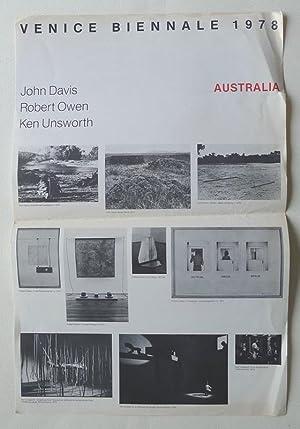Australia. Venice Biennale. John Davis, Robert Owen,: AUSTRALIAN ART.