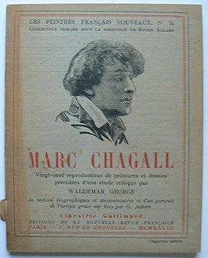 """Marc Chagall. Collection """"les peintres français nouveaux"""": GEORGE, WALDEMAR."""