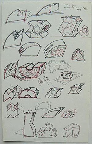 Ideas for Teapots  ORIGINAL DRAWING.