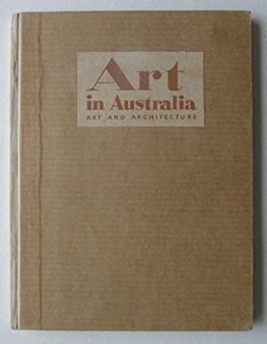 Art in Australia. Drawing and Drawings in Australia by Lionel Lindsay. A Sydner Morning Herald Pu...