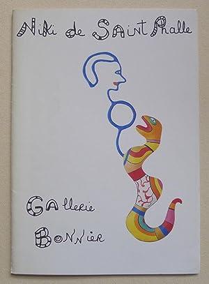 Niki de Saint Phalle. Oeuvres Récentes. Galerie: SAINT PHALLE, NIKI