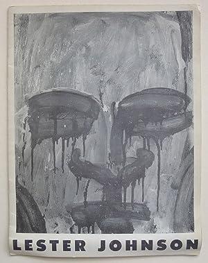 Lester Johnson. Martha Jackson Gallery, New York, January 8-February 2, 1963.: JOHNSON, LESTER.