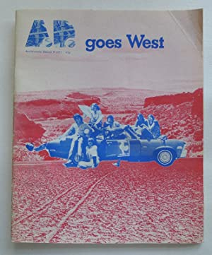 A.D. goes West. Architectural Design 9, London 1973.