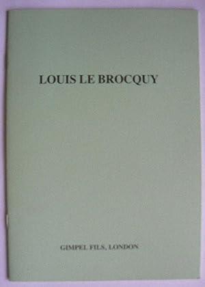 Louis Le Brocquy. A retrospective selection of: LE BROCQUY, LOUIS.