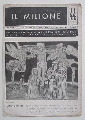 Tullio Garbari. In una Mostra Posthuma che: GARBARI, TULLIO.