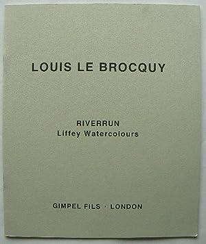 Louis Le Brocquy. Riverrun, Liffey Watercolours. 31st: LE BROCQUY, LOUIS.