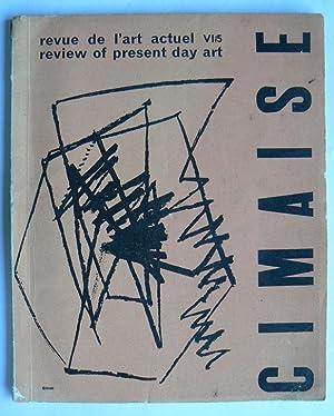 Cimaise. Revue de l'art actuel. Review of: CIMAISE.