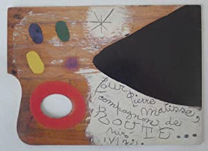 Joan Miró 90 Years. Private view invitation,: MIRÓ, JOAN.