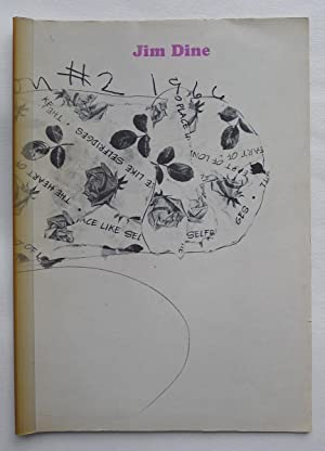 Jim Dine. London 1966. Drawings, collage collaborations: DINE, JIM.
