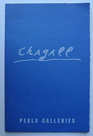 Marc Chagall (1887- ). Perls Galleries, New: CHAGALL, MARC.