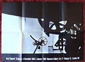Jean Tinguely Sculpture. Poster. Hanover Gallery, London: TINGUELY, JEAN.
