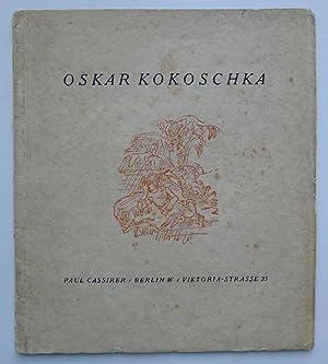 Oskar Kokoschka. Paul Cassirer, Berlin November-Dezember 1918.: KOKOSCHKA, OSKAR.