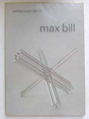 Max Bill. Neue Werke / Recent Works.: BILL, MAX.