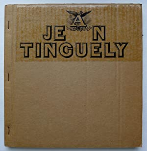 Jean Tinguely. Dessins et gravures pour les: TINGUELY, JEAN.