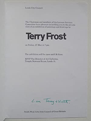 The Chairman and members of the Leisure: FROST, TERRY.