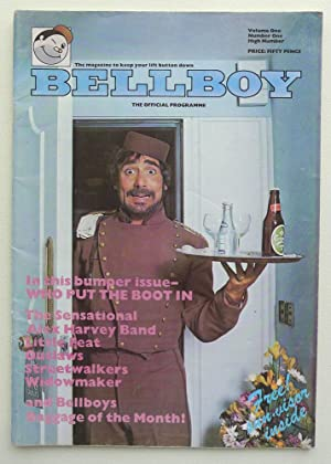 BellBoy. The Official Programme. Vol. 1, No.1. The Who, Sensational alex Harvey Band, Little Feat...