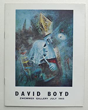 Church and State. A Series of Paintings by David Boyd. Zwemmer Gallery, London July 9th-July 31st...