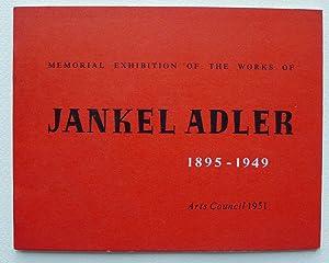 Memorial exhibition of the works of Jankel: ADLER, JANKEL.