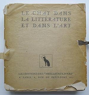 La chat dans la littérature et dans: CONAN-FALLEX (Jacqueline).