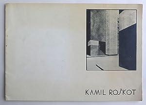 Kamil Roškot Das Architektonische Werk 1886-1945. Herausgegeben: ROŠKOT, KAMIL.