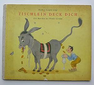 Tischlein deck dich .Goldesel - Knüppel aus dem Sack. Ein Märchen der Brüder Grimm.:...