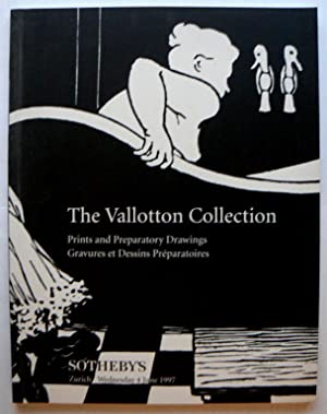 The Vallotton Collection. Prints and Preparatory Drawings.: VALLOTTON, FELIX.