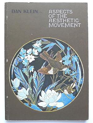 Aspects of The Aesthetic Movement. Books, ceramics,: AESTHETIC MOVEMENT.